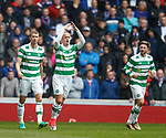Leigh Griffiths celebrates his goal