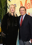 """Steve Croft and wife attending the Broadway Opening Night Performance of  """"Escape To Margaritaville"""" at The Marquis Theatre on March 15, 2018 in New York City."""