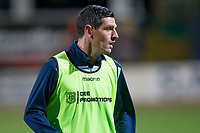 8th November 2019; Dens Park, Dundee, Scotland; Scottish Championship Football, Dundee Football Club versus Dundee United; Graham Dorrans of Dundee during the warm up before the match  - Editorial Use