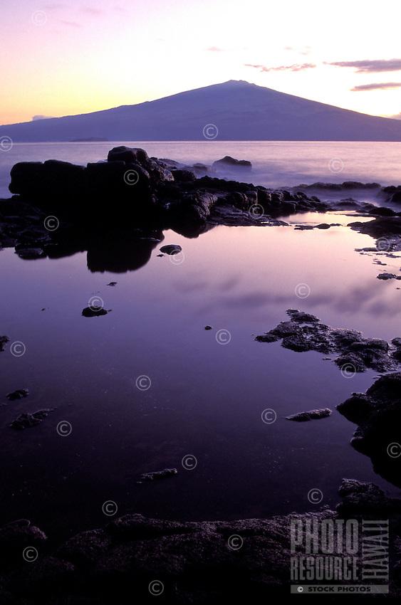 Kahoolawe, Haleakala from a distance