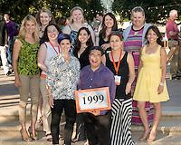Alumni Reunion Weekend, class group photos - class of 1999