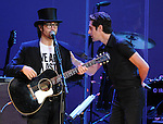 Sean Lennon and Perry Farrell perform at We are Plastic Ono Band on night 2 at The Orpheum Theatre in Downtown Los Angeles, California on October 02,2010                                                                   Copyright 2010  Debbie VanStory / RockinExposures
