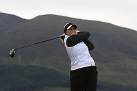 Anna Backman (FIN) on the 2nd tee during Round 2 of the Women's Amateur Championship at Royal County Down Golf Club in Newcastle Co. Down on Wednesday 12th June 2019.<br /> Picture:  Thos Caffrey / www.golffile.ie