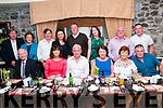 John Stackpoole, Knockanure celebrationg his 60th birthday with family & friends at Behan's Horseshoe Restaurant, Listowel on Saturday night last.