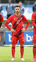 Belgian Elias Sierra pictured during a friendly soccer game between the national teams Under19 Youth teams of Belgium and Germany on tuesday 8 th of September 2020  in Genk , Belgium . PHOTO SPORTPIX.BE | SPP | DAVID CATRY