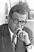 "Official portrait of Charles Wendell ""Chuck"" Colson who was the chief counsel for United States President Richard Nixon from 1969 to 1973 taken in Washington, D.C. on October 7, 1971.  Known as President Nixon's hatchet man, he once bragged, ""I'd walk over my own grandmother to re-elect Richard Nixon."" At a Committee to Re-elect the President (CREEP) meeting on March 21st, 1971, it was agreed to spend $250,000 on ""intelligence gathering"" on the Democratic Party.  Colson and John Ehrlichman appointed E. Howard Hunt to the White House Special Operations Unit (the so-called ""Plumbers""). Colson organized the Plumber's burglary of Daniel Ellsberg's psychiatrist's office in September 1971. Colson hoped that revelations about Ellsberg could be used to discredit the anti-war left.  In 1974 Colson pleaded nolo contendere (no contest) to obstruction of justice in the Ellsberg case. He was given a one-to-three year sentence.  Several months before his plea, Colson became an evangelical Christian..Credit: White House via CNP"