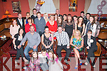 Simone Hennessy, Spa Rd, Tralee (seated centre) celebrated her 21st birthday last Saturday night in the Imperial hotel, Denny St, Tralee along with many friends and family.