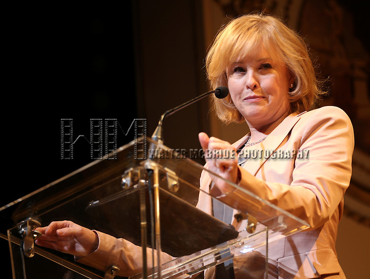 Faye Grant.during the 68th Annual Theatre World Awards at the Belasco Theatre  in New York City on June 5, 2012.