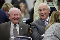 September 11, 2012 - Montreal (Quebec) CANADA - CRTC hearing on Astral acquisition by Bell Canada -   Andre Bureau,Chairman of the Board, ASTRAL Media and former head of the CRTC (L) and Ian Greenberg, President and CEO, Astral media