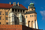 "Wieża Kurza Stopka, Wawel<br /> Wawel Castle as seen from Grodzka Street – ""Kurza Stopka"" tower, Cracow, Poland"