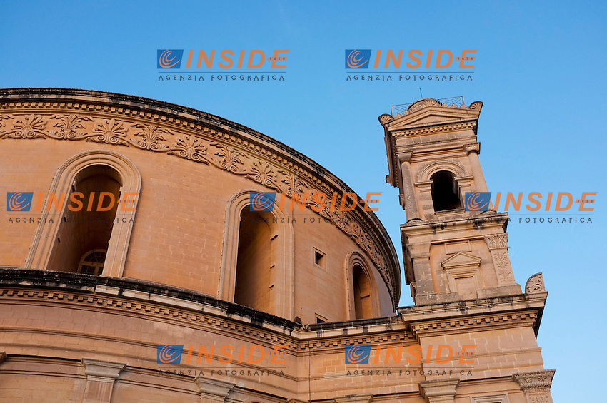 Chiesa dell'Assunzione.19/11/2012 Malta.Foto Marine Andrieux / Panoramic / Insidefoto.ITALY ONLY