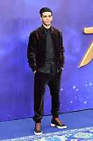 Mena Massoud attends live-action remake of the hit Disney animated film Aladdin on 9th May 2019 in London, England, UK.<br /> <br /> <br /> CAP/JOR<br /> &copy;JOR/Capital Pictures