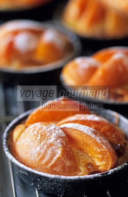 """Europe/France/Provence-Alpes-Côte d'Azur/84/Vaucluse/Menerbes: Tartes aux abricots de provence - Recette de Nicolas Le Bec chef du restaurant """"La Bastide de Marie"""""""