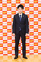 Japanese gymnast Kohei Uchimura attends the 28th Japan Best Jewellery Wearer Awards ceremony in Tokyo, Japan on January 24, 2017. (Photo by AFLO)