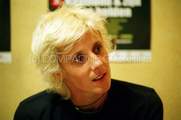 Belgian singer Sarah Bettens (Belgium, 07/12/2006)