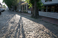cobblestone street, Nantucket, MA