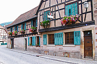 The Marc Kreydenweiss house in Andlau, Alsace Domaine Marc Kreydenweiss, Andlau, Alsace, France