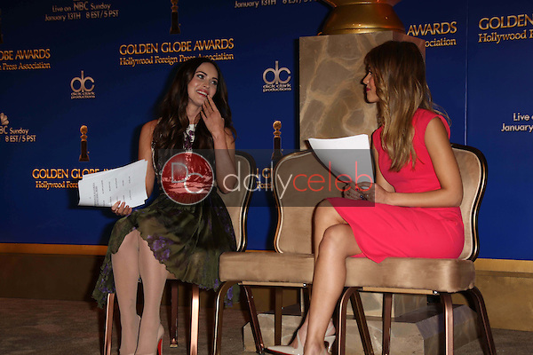 Megan Fox, Jessica Alba<br />