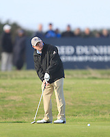 Gerry McManus (AM) during the Final Day of the Alfred Dunhill Links Championship at St. Andrews Golf Club on Sunday 29th September 2013.<br /> Picture:  Thos Caffrey / www.golffile.ie