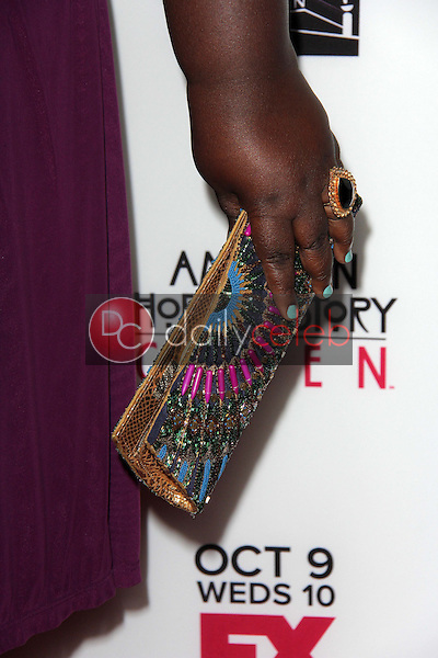"""Gabourey Sidibe<br /> at the """"American Horror Story Coven"""" Red Carpet Event, Pacific Design Center, West Hollywood, CA 10-05-13<br /> David Edwards/Dailyceleb.com 818-249-4998"""