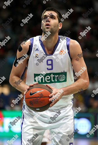 2009-03-31 / Basketbal / Euroleague / Real Madrid - Olympiacos Piraeus / Felipe Reyes (Real Madrid)..Foto: Maarten Straetemans (SMB)