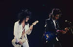 Steve Stevens performing with Billy Idol at The Los Angeles Forum, Inglewood , Ca . May 1987 Kenny Aaronson on Bass