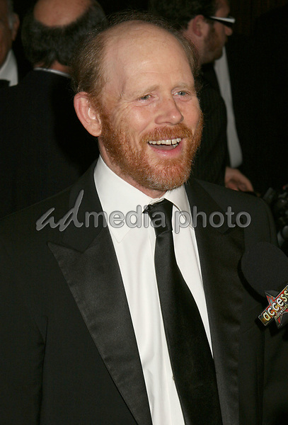 19 February 2006  - Beverly Hills, California - Ron Howard. 56th Annual ACE Eddie Awards presented by the American Cinema Editors held at the Beverly Hilton Hotel. Photo Credit: Byron Purvis/AdMedia
