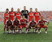 Starting eleven for Toronto FC at  BMO Field on Saturday September 13, 2008. .The game ended in a 1-1 draw.