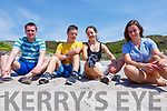 Enjoying what was like a private beach at Derrynane on Monday were l-r; Cian Murry, Alex, Claire & Francesca O'Connor.
