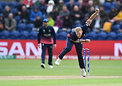 Jun 6th, The SSE SWALEC, Cardiff, Wales; ICC Champions Trophy; England versus New Zealand; Ben Stokes of England bowls