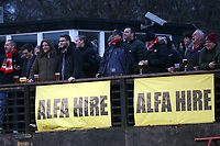 Spectators look on during Hornchurch vs Aveley, Buildbase FA Trophy Football at Hornchurch Stadium on 11th January 2020