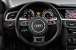 Steering wheel view of a 2014 Audi A5 Sportback AMBIENTE 5 Door Hatchback 2WD