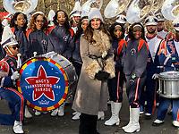 NEW YORK, NY - NOVEMBER 28: Idina Menzel at the Macy's Thanksgiving Day Parade in New York, New York on November 28, 2019.  <br /> CAP/MPI/RMP<br /> ©RMP/MPI/Capital Pictures