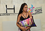 MIAMI, FL - JULY 25: Mýa backstage during the Overtown Music and Arts Festival at the historic Overtown district of Miami on Saturday July 25, 2015 in Miami, Florida. ( Photo by Johnny Louis / jlnphotography.com )