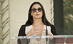 Lucy Liu Honored With Star On The Hollywood Walk Of Fame on May 01, 2019 in Hollywood, California.<br /> a_Lucy Liu 007  Demi Moore