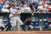Detroit Tigers Brandon Inge in action against the Royals at Kauffman Stadium in Kansas City, Missouri on May 5, 2007.
