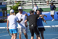 DELRAY BEACH, FL - NOVEMBER 05: Dr. Phil McGraw, Chris Evert participates in the 28th Annual Chris Evert/Raymond James Pro-Celebrity Tennis Classic at Delray Beach Tennis Center on November 5, 2017 in Delray Beach, Florida<br /> CAP/MPI/HOO<br /> &copy;HOO/MPI/Capital Pictures