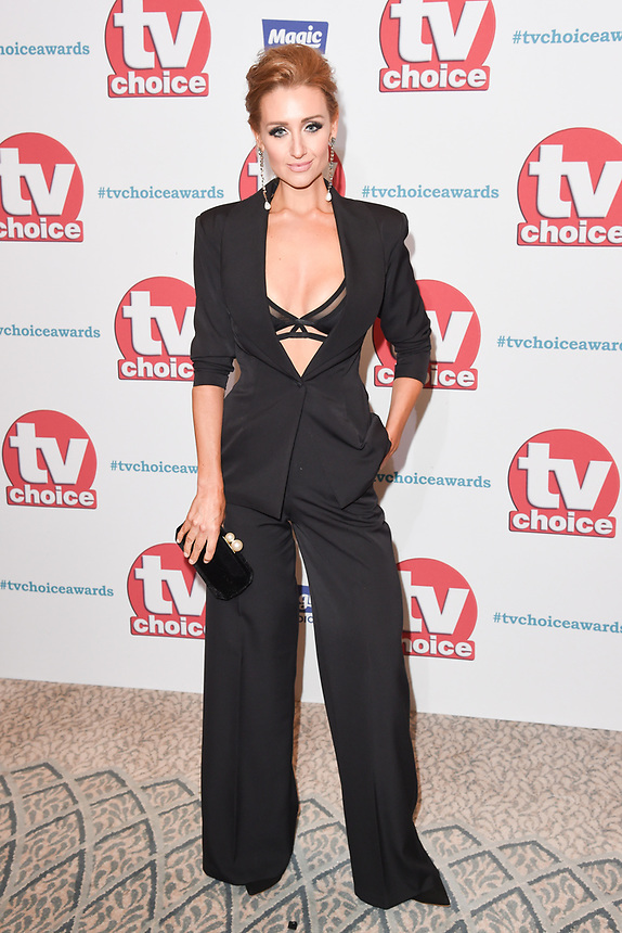 Catherine Tyldesley<br /> arriving for the TV Choice Awards 2017 at The Dorchester Hotel, London. <br /> <br /> <br /> ©Ash Knotek  D3303  04/09/2017