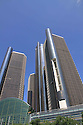 Renaissance Center in downtown Detroit