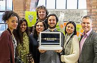 Phil Oldershaw; Anisa Haghdadi; Paul Stringer; Alisha Kadir; Carl Sealeaf; Jordan Garvy; Ayesha Jones, Beatfreeks Equinox Mixed Media Festival (March 2015) Press Call Feb 2015