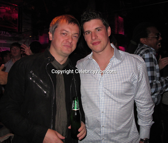 Mo Stojnovic and Sidney Crosby, Canadian Hockey Player..Fashion For Relief Japan Fundraiser Hosted by Naomi Campbell After Party..2011 Cannes Film Festival..Baoli Restaurant..Cannes, France..Monday, May 16, 2011..Photo By CelebrityVibe.com..To license this image please call (212) 410 5354; or.Email: CelebrityVibe@gmail.com ;.website: www.CelebrityVibe.com.**EXCLUSIVE**