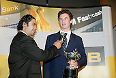 Henry Tuipea interviews Young Sportman of the Year Michael Arms. ASB College Sport Young Sportsperson of the Year Awards 2006, held at Eden Park on Thursday 16th of November 2006.<br />