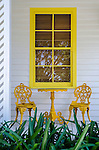 Yellow Window and Front Porch