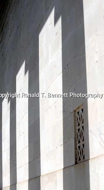 Abraham Lincoln Memorial shadows, pillars, shadows, 16th President of the United States, American Civil war, Union, Union ending slavery, slavery, Republican, county lawyer, Illinois state legislator, United States House of Representatives, U.S. Senate, Emancipation Proclamation, Thirteenth Amendment to the Constitution, first American President to be assassinated, Ulysses S. Grant, Trent affairs, border slave states,  Gettysburg Address, Greatest U.S. President,  Lincoln Memorial, Washington Monument, US Capital, United States Capital with flags, US flags, Lincoln memorial and Washington monument, Washington DC, District, DC, capital, Potomac River, Washington Metropolitan, metropolitan area, federal district, federal government of USA, US Congress, White House, National Mall, Politics in the United States, Presidential, Federal Republic, united States Congress, powers, Judicial Power, House of Representatives, US Senate, Constitution, federal law, Democratic Party, Republican party, two party system, Fine Art Photography by Ron Bennett, Fine Art, Fine Art photo, Art Photography,