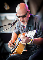 John Mooney performs at the 2013 Blues and BBQ Festival in New Orleans, LA.