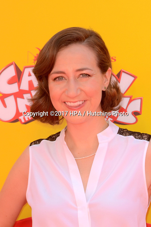 "LOS ANGELES - MAY 21:  Kristen Schaal at the ""Captain Underpants"" Los Angeles Premiere at the Village Theater on May 21, 2017 in Westwood, CA"