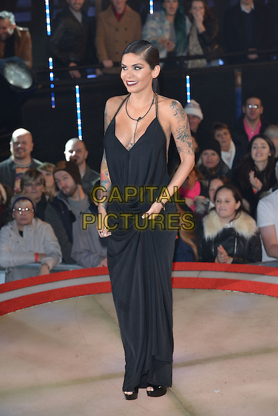 Camila (Cam Li) Figueras<br /> Celebrity Big Brother launch night on Wednesday, 7th January 2015, Borehamwood, Hertfordshire.<br /> CAP/PL<br /> &copy;Phil Loftus/Capital Pictures