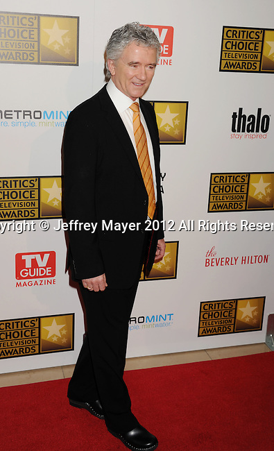BEVERLY HILLS, CA - JUNE 18: Patrick Duffy arrives at The Critics' Choice Television Awards at The Beverly Hilton Hotel on June 18, 2012 in Beverly Hills, California.