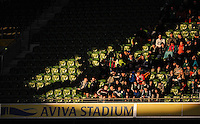 29/03/2016;International Friendly - Republic of Ireland vs Slovakia, Aviva Stadium, Dublin<br /> General view of supporters in the Aviva Stadium<br /> Photo Credit: actionshots.ie/Tommy Grealy