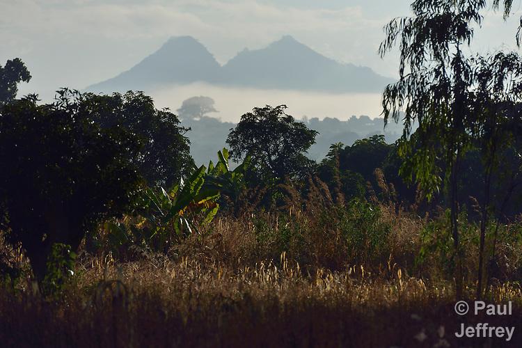 The countryside near Edundu, Malawi.